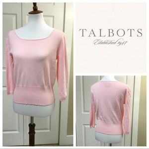 JUST IN❗️PASTEL PINK TALBOTS TOP